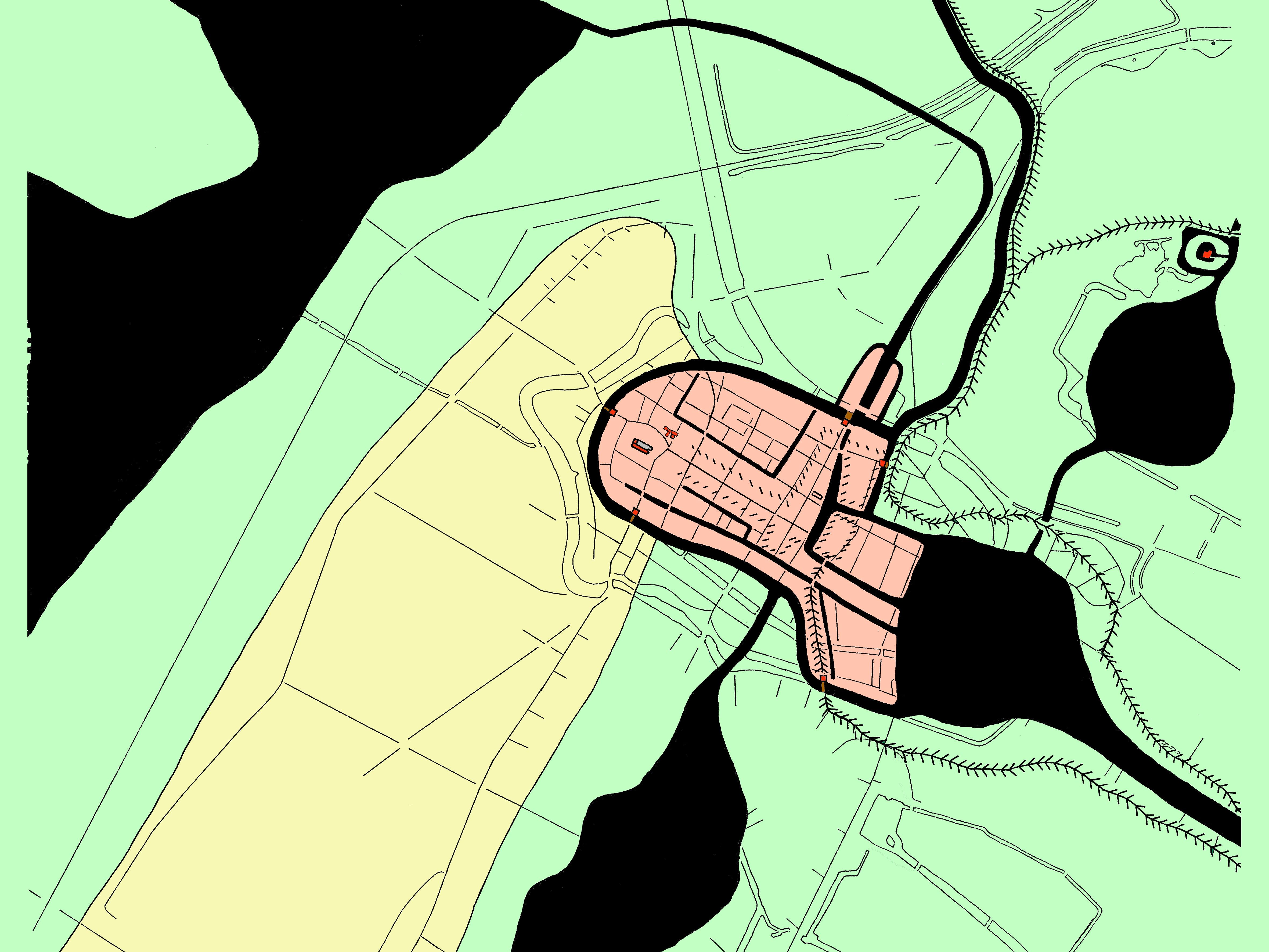 Alkmaar ca. 1400
